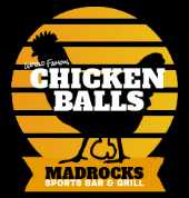 World Famous Buffalo Chicken Balls at Madrocks Sports Bar & Grill in Derby Kansas USA