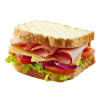Chow down this tasty sandwich from our lunch and Deli Menu