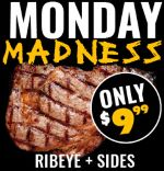 Promos Food Steak Mondays Madrocks Ribeye Deal